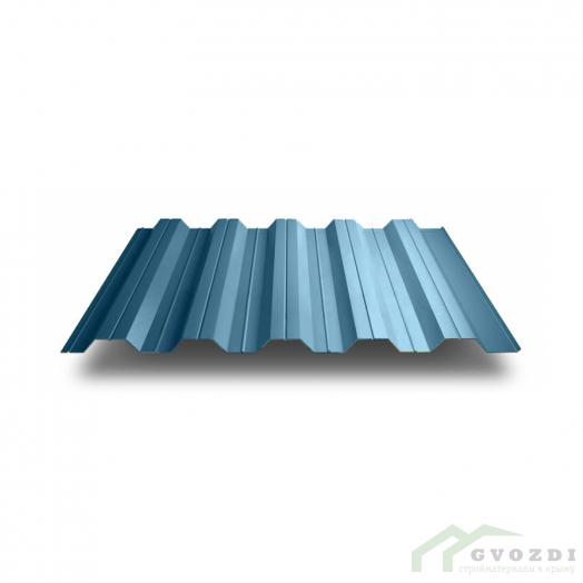 Профильный лист НС-40 оцинкованный с полимерным покрытием (Профнастил НС40-1000) длина 3,0 м, толщина 0,7 мм, RAL