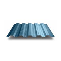 Профильный лист НС-40 оцинкованный с полимерным покрытием (Профнастил НС40-1000) длина 6,0 м, толщина 0,7 мм, RAL