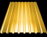Профильный лист С-8 оцинкованный с полимерным покрытием (Профнастил С8-1150) длина 3,0 м, толщина 0,4 мм, RAL