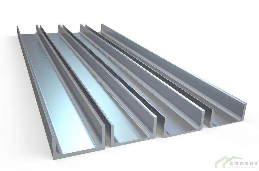 Швеллер стальной горячекатаный размер 20, длина 3,0 метра, ГОСТ 8240-97
