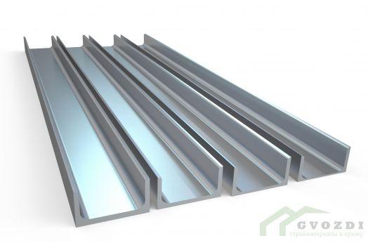 Швеллер стальной горячекатаный размер 20, длина 6,0 метров, ГОСТ 8240-97