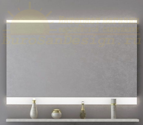 Зеркало с подсветкой Aggeto (Аджето) 100х65 ФОТО