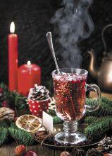 Почтовая открытка Зимний чай