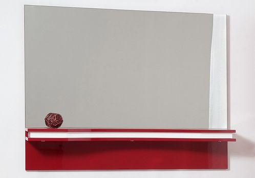 Серебряное зеркало с полочкой Tagliare 5 (Таглиаре) 120х90 ФОТО