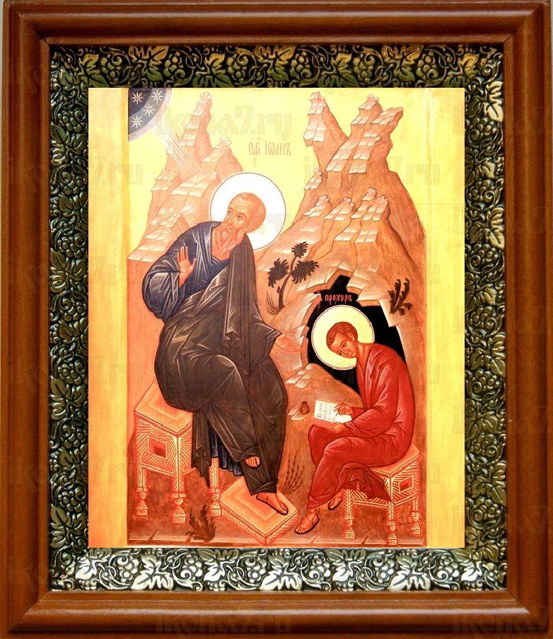 Прохор, апостол от 70-ти (19х22), светлый киот