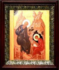 Прохор, апостол от 70-ти (19х22), темный киот