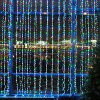 Светодиодная гирлянда Шторка 320 LED лампочек