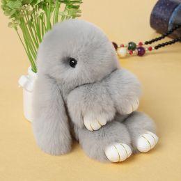 Мягкий брелок Кролик 14 см.