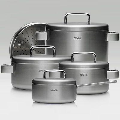 Atomy MediCook kitchen set Атоми Медикук Набор сковородок и кастрюлей (9 pc)
