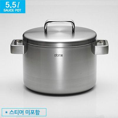 Atomy sauce pot 5.5 l MediCook Атоми кастрюля