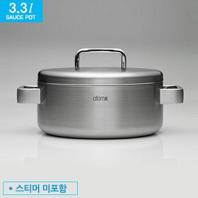 Atomy MediCook 3.3 l sauce pot Атоми кастрюля