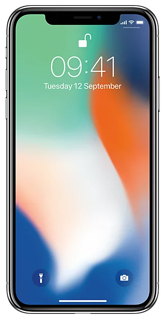 Apple iPhone X Silver 64 Gb