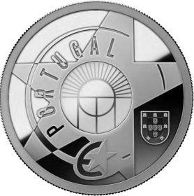 Железо и стекло(Эпоха модернизма) 5 евро Португалия 2017 на заказ