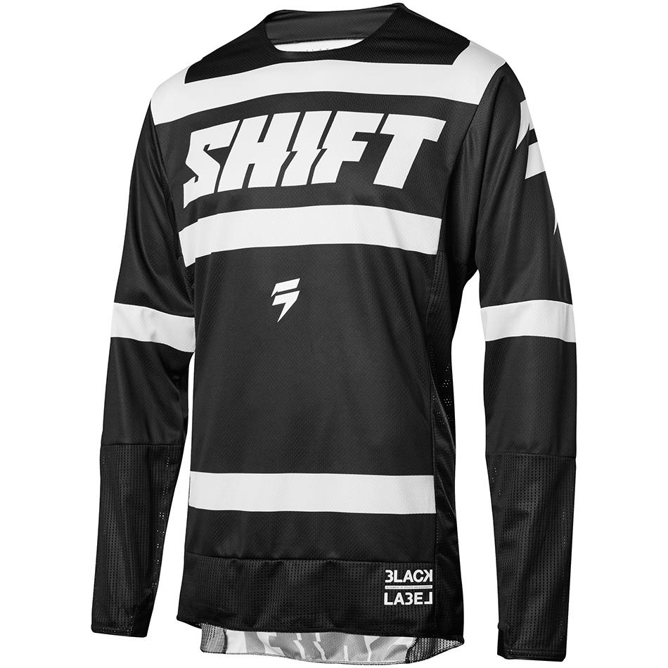 Shift - 2018 3Lack Label Strike джерси, черно-белое
