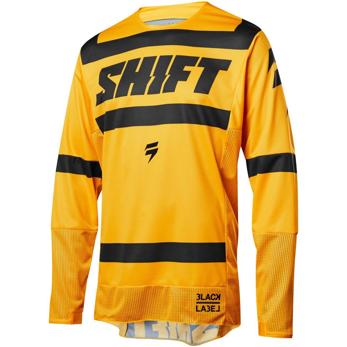 Shift - 2018 3Lack Label Strike джерси, желтое