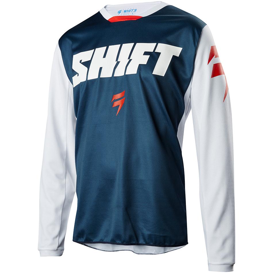 Shift - 2018 Whit3 Ninety Seven джерси, синее