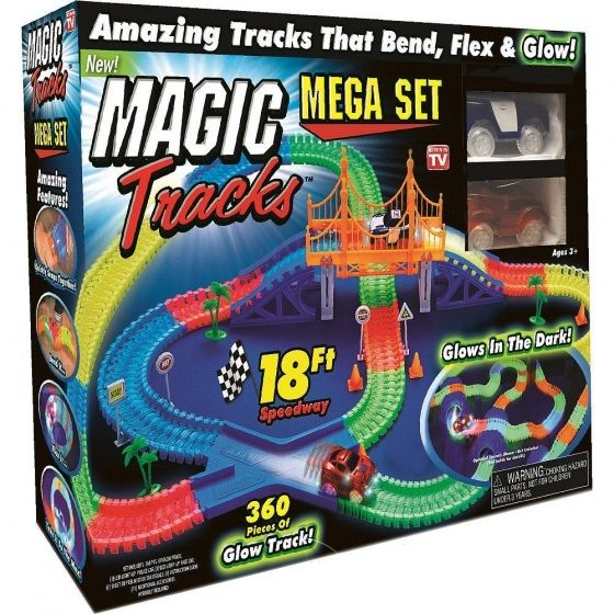 Magic Tracks Mega Set 360 деталей