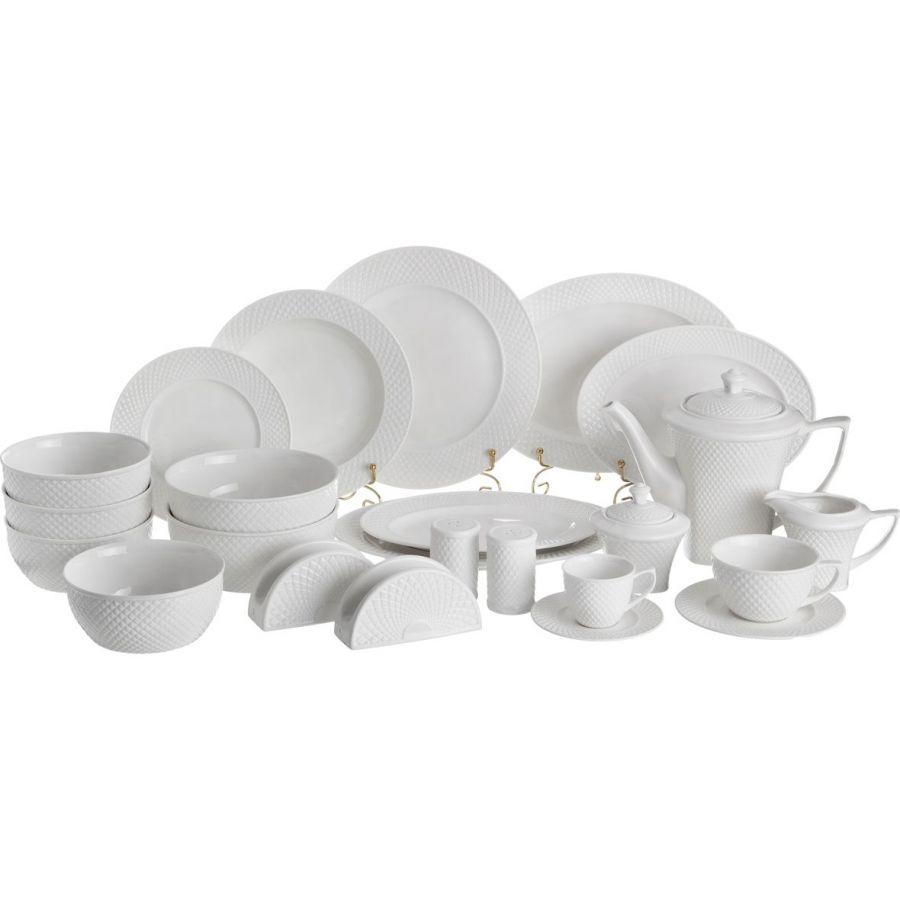 """Столово-чайный сервиз на 12 персон """"Диаманд"""", 103 пр."""