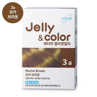 Atomy Jelly and color 3a Атоми крем-гель краска для волос