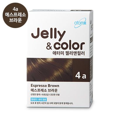 Atomy Jelly and color 4a Атоми крем-гель краска для волос