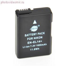 Аккумулятор DSTE EN-EL14 для Nikon