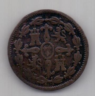4 мараведи 1808 г. Испания