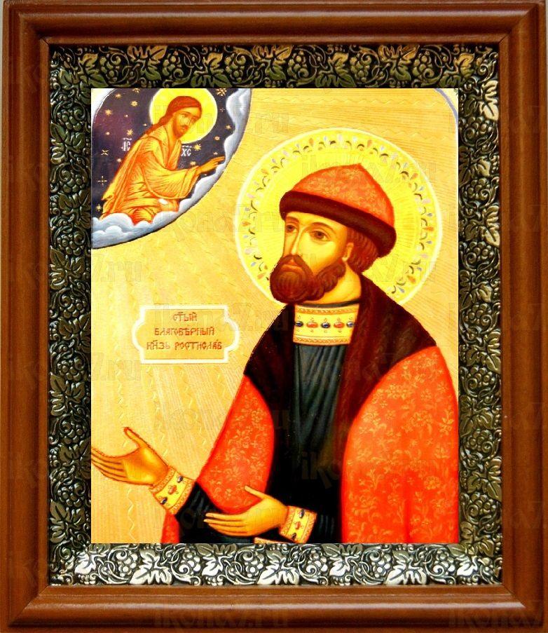 Ростислав Киевский (19х22), светлый киот