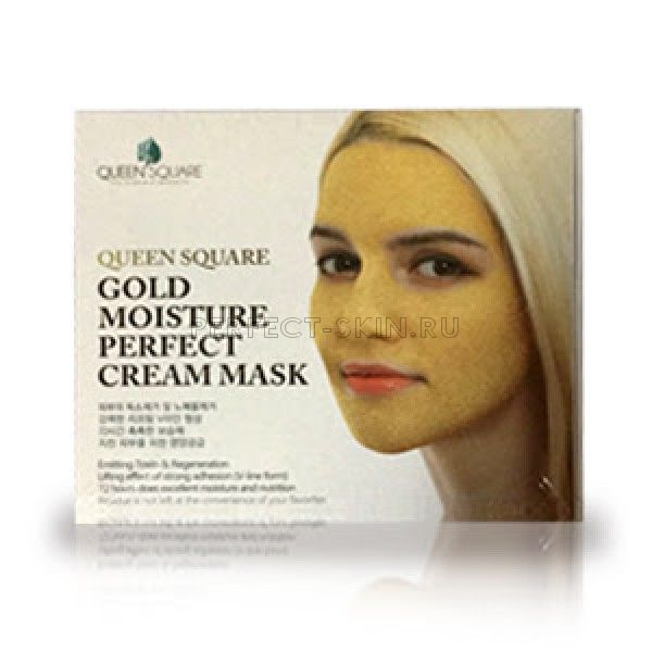 Anskin Gold Moisture Perfect Cream Mask 50g*4