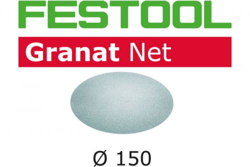 Шлифовальный материал на сетчатой основе STF D150 P120 GR NET/50