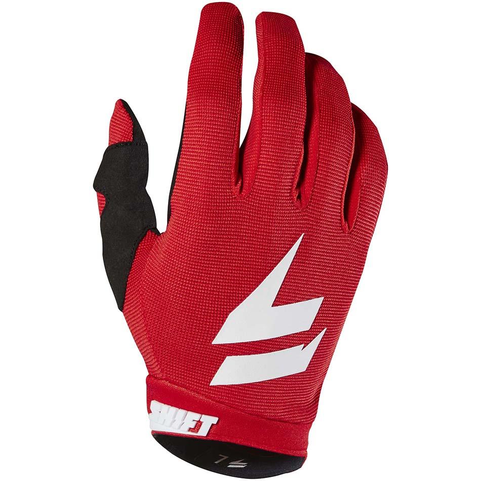Shift - Whit3 Air перчатки, красные