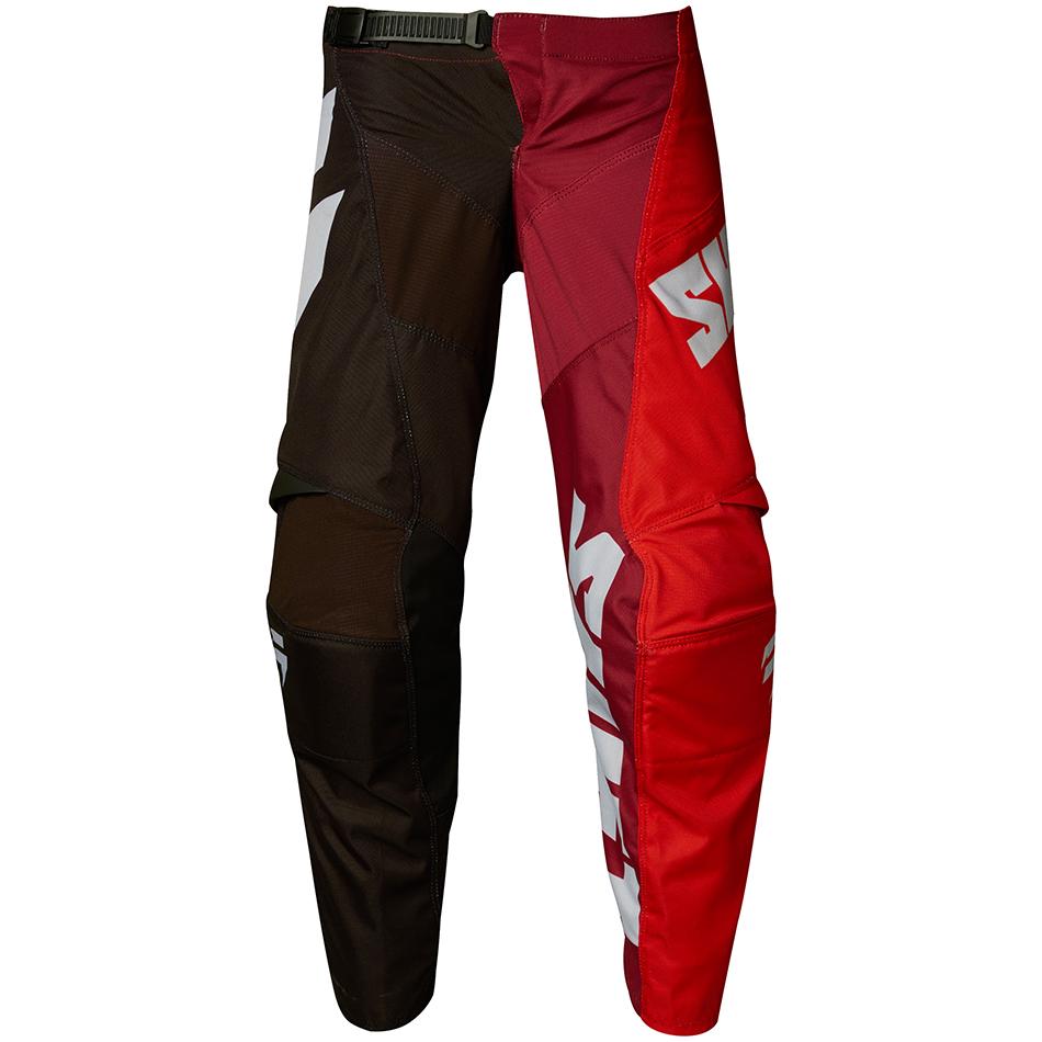 Shift - 2018 Whit3 Tarmac Youth штаны подростковые, черно-красные