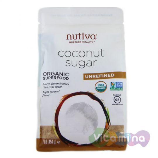 Нерафинированный Кокосовый сахар, 454 гр