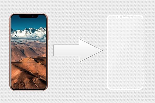 Защитное стекло Ainy Full Screen Cover для Apple iPhone X 0.33мм белое
