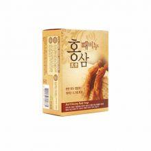 Miso Red Ginseng Scrub Soap(for pharmacy) 100g Мыло-скраб красный женьшень, 100 гр