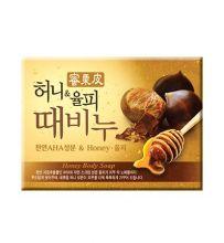 Honey & Chestnut Scrub Soap 100g  Мыло-скраб мед и каштан, 100 гр