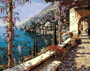 Картина по номерам Море E712