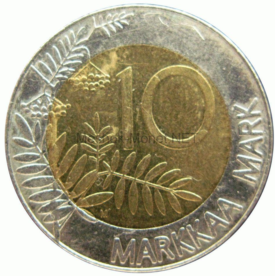 Финляндия 10 марок 1993 г.