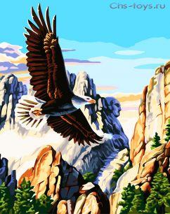 Картина по номерам Горный орел E133