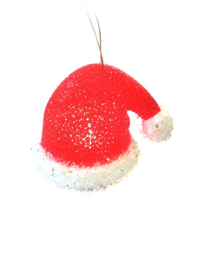 Игрушка Светящийся Колпак Деда Мороза