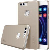 Чехол Nillkin Super frosted для Huawei Honor 8 золотой
