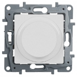 Светорегулятор поворотный, 300Вт, без нейтрали Legrand Etika Бел