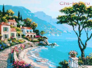 Картина по номерам Райский уголок E527