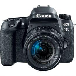Зеркальный фотоаппарат Canon EOS 77D 18-55 mm IS STM