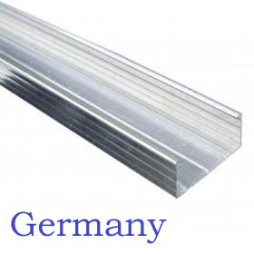 Профиль Германи ПП 60*27 - 3м толщина 0,6 мм