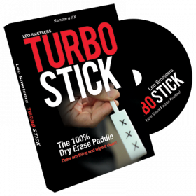 Turbo Stick by Richard Sanders (DVD + Gimmicks)