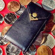 Держатель (холдер) для 6 монет - 6 Pocket Coin Purse (кожа)