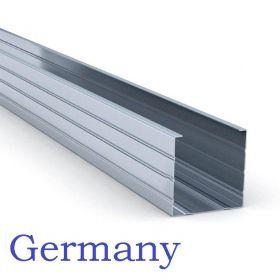 Профиль Германи ПС 50*50 - 3м толщина 0,6 мм