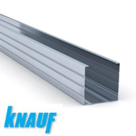 Профиль Кнауф ПС 50*50 - 3м толщина 0,6 мм