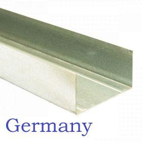 Профиль Германи ПН 75*40 - 3м толщина 0,6 мм