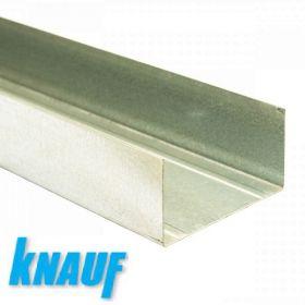 Профиль Кнауф ПН 75*40 - 3м толщина 0,6 мм